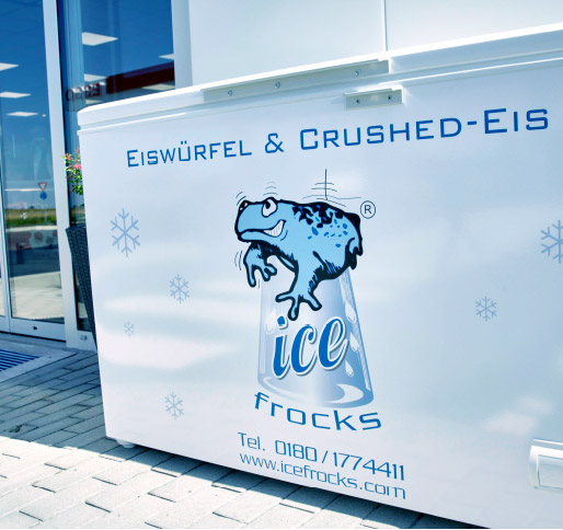 packung eis automaten